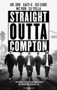 Straight Outta Compton movie ad. (Photo via Flikr by The MovieSpace)