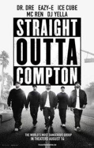 Straight Outta Compton movie ad. (Photo via Flikr by The MovieSpace)