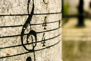 Treble Clef (Photo via Flickr by Zupao)